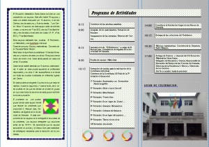 Programa de Actividades del XVI Encuentros Matemáticos Sierra Arana